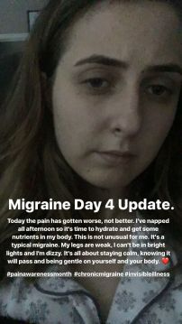 ALushLifeDay4MigraineUpdate